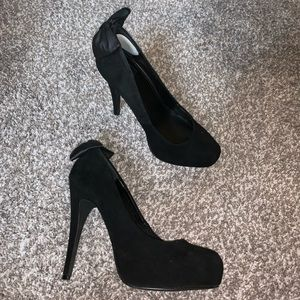 Dolce Vita Shoes - Black bow heels
